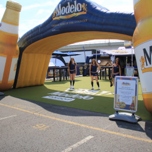 Modelo-Custom-Logo-Rug-For-An-Event